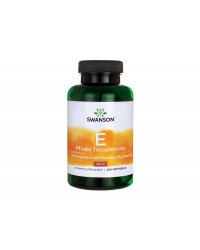 Vitamin E Mixed Tocopherols 400 IU 250 гел-капсули | Swanson