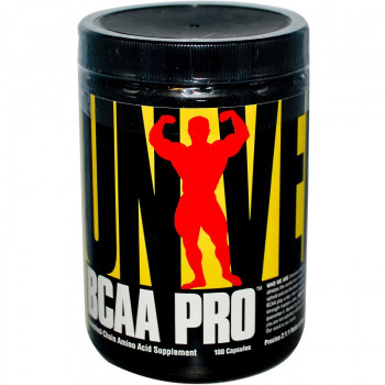 BCAA PRO 100 капсули Universal Nutrition