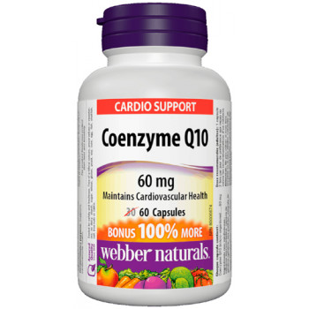 Coenzyme Q10 60 мг 60 капсули | Webber Naturals