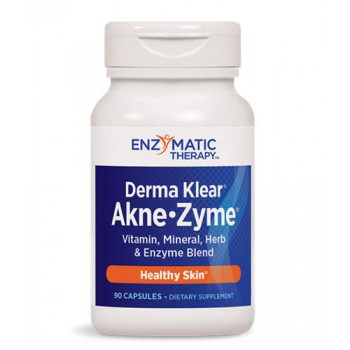 Derma Klear® Akne Zyme® 380 mg 90 capsules | Enzymatic Therapy