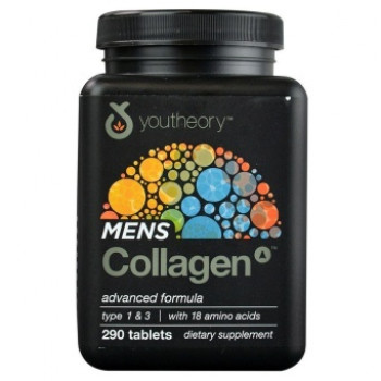 Mens Collagen Advanced Formula 290 Tablets Youtheory
